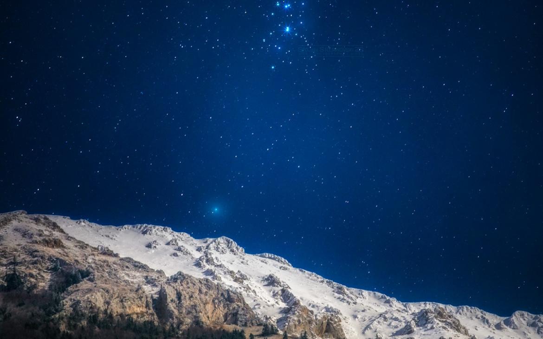 Комета 46P/Wirtanen, соѕвездие Плеади и Галичица