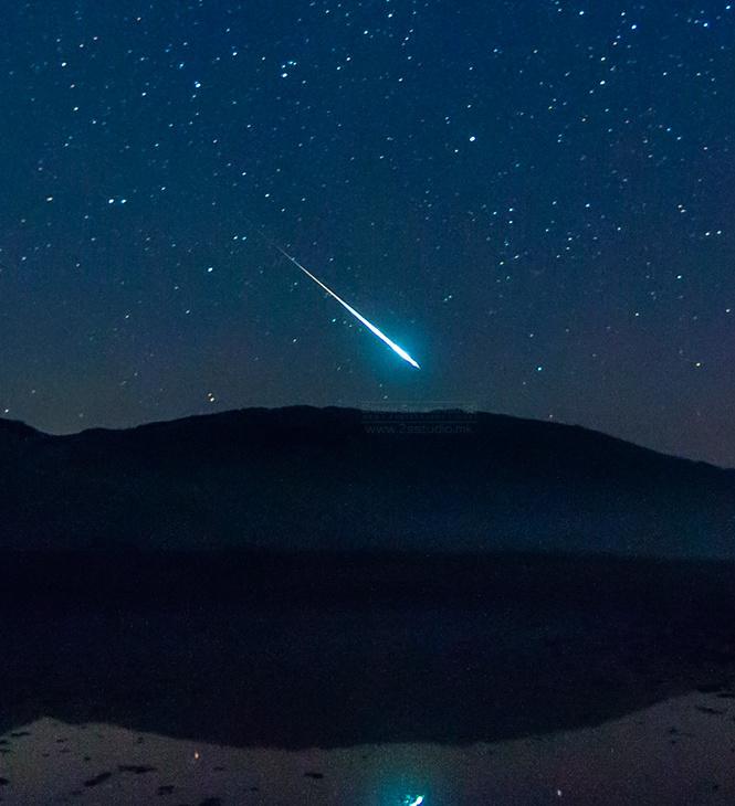 Метеор на Галичица во топ 100 Space фотографии во светот!