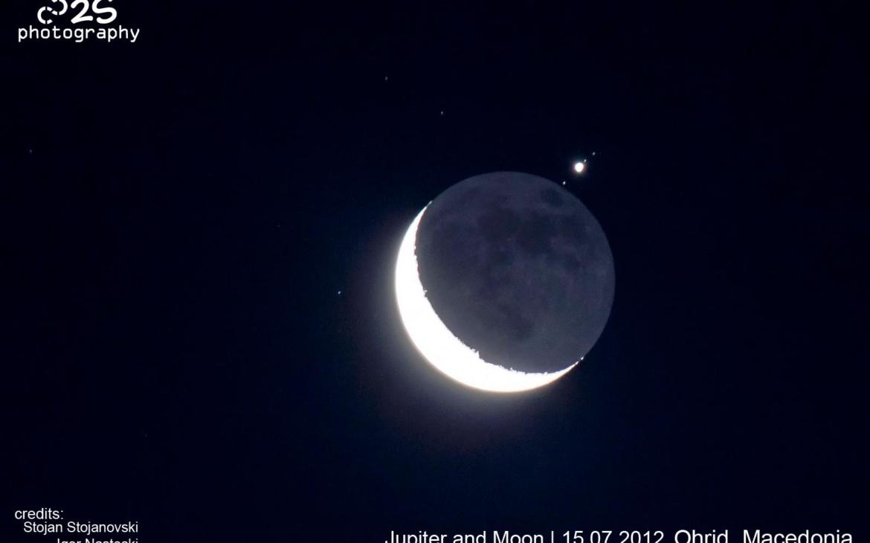Јупитер и Месечина – 15 Јули 2012