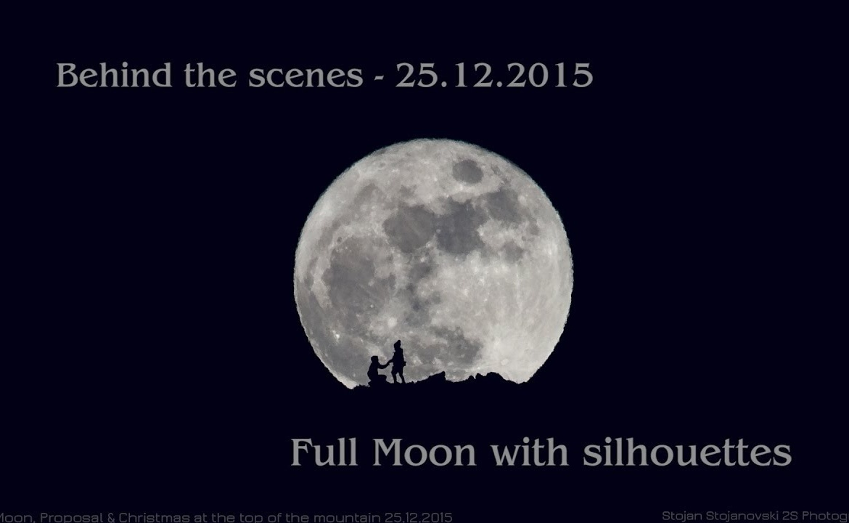 Фоткање на Божиќна Полна Месечина – Backstage видео