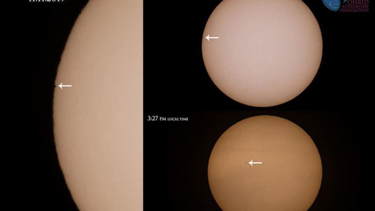 Трансит на Меркур – Фотогалерија