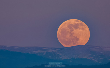Super Pink Moon: Полната месечина вечерва проследена со пренос во живо!