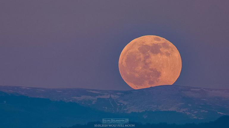 Мартовската Супер Месечина ќе го осветли небото во понеделник