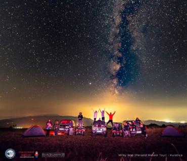 Метеорскиот дожд Персеиди и Млечниот Пат, вистинско доживување за посетителите на Астро Турата