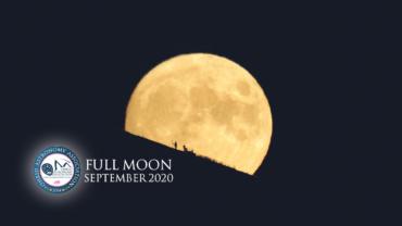 Видео: Фотографирање на септемвриската полна месечина