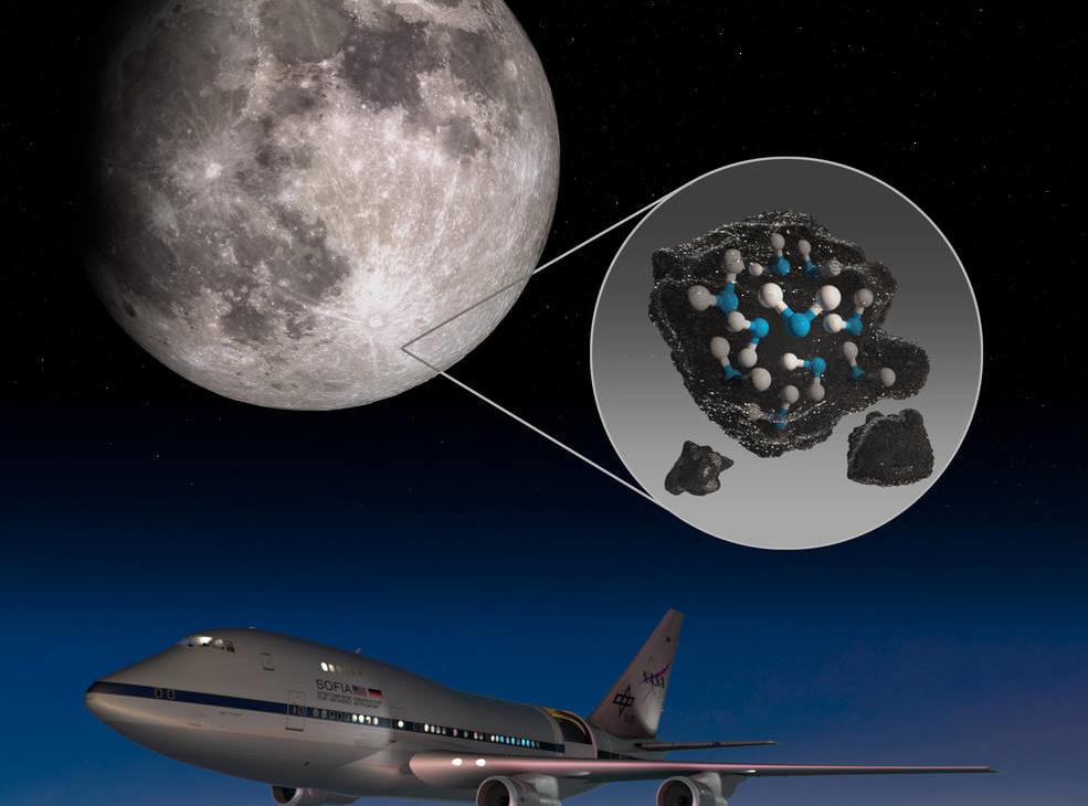 НАСА објави дека пронашле вода на месечината