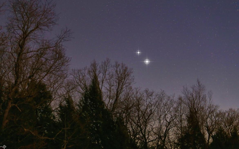 На 21 Декември Феномен на небото во последните 800 години